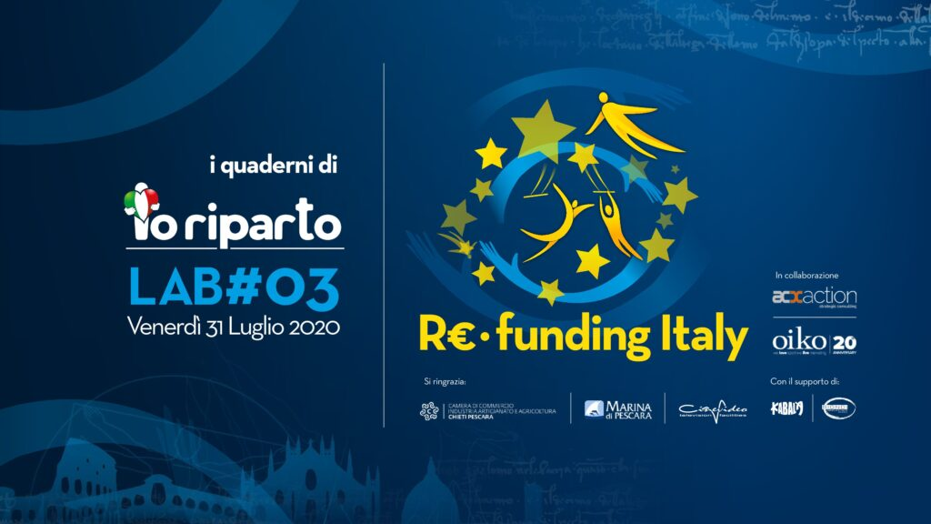 I Quaderni di Io Riparto LAB#03 Re-funding Italy
