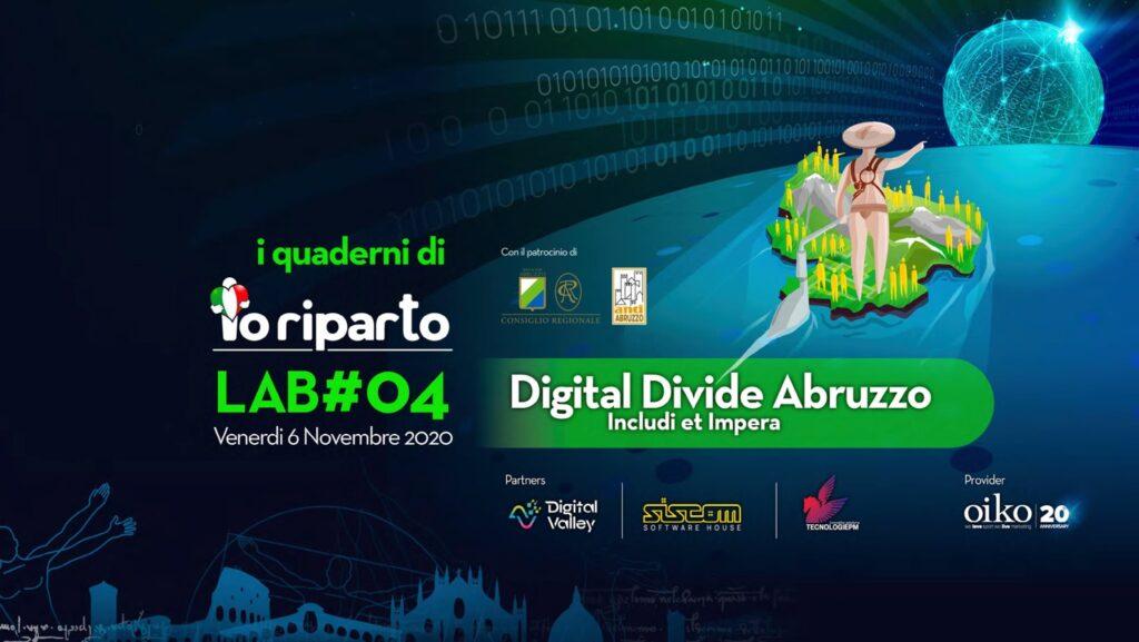 I Quaderni di Io Riparto lab #4 Digital Divide Abruzzo